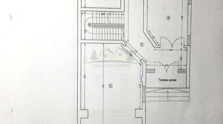 Bucurestii Noi Damaroaia Jiului vila P+1+M 6 camere teren 328 mp floorplan 1